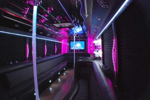 Party Bus for Quinceaneras