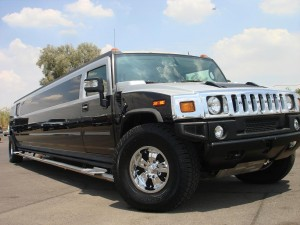 Extremely stylish and new H2 Hummer Limo